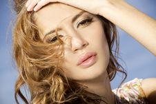 Beautiful Adult Sensuality Woman Royalty Free Stock Photos