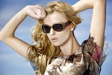 Free Beautiful Girl In Sunglasses Stock Images - 19846564