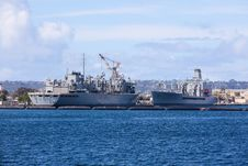 Free Battleship In San Diego Royalty Free Stock Photos - 19846718