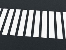 Free Road Markings - Crossing Royalty Free Stock Photography - 19847057