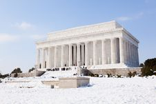 Free Lincoln Memorial In Washington DC Stock Photo - 19847360