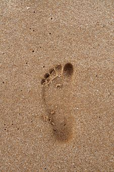 Free Footprints Stock Image - 19848091