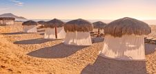 Free Tiki Huts And Massage Tents Stock Photography - 19848182