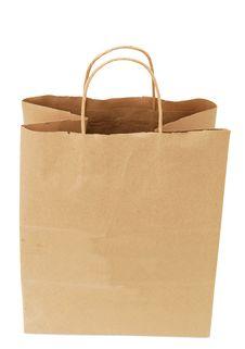 Free Paper Bag Royalty Free Stock Photo - 19848825