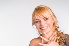 Free Cute Girl Smiling Royalty Free Stock Photos - 19849018
