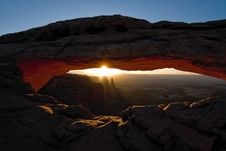 Free Mesa Arch Royalty Free Stock Photos - 19849068