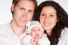 Free Beautiful Family Portrait Royalty Free Stock Images - 19849279