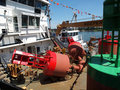 Free Bouys On A Ship. Royalty Free Stock Photography - 19852267