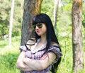 Free Beautiful Woman Wearing Sunglasses Stock Images - 19852604