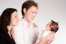 Free Beautiful Family Portrait Stock Photo - 19850040