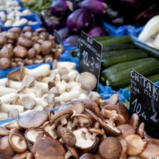 Free Fresh Mushrooms Stock Image - 19850061