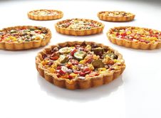 Free Cheese And Tomato Quiche Stock Images - 19850064