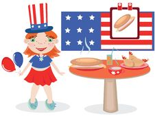 Free National Hot Dog Day Stock Photography - 19850612