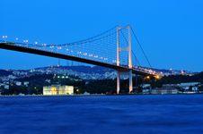 Free İstanbul Bosphorus Bridge Stock Image - 19851211