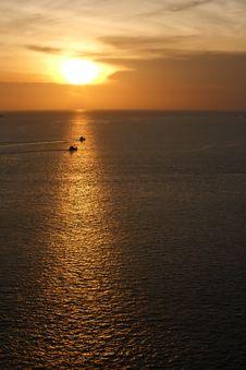 Free Sunset In Phuket Of Thailand Royalty Free Stock Image - 19851326