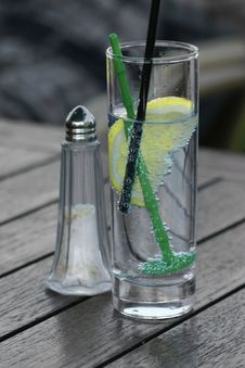 Free Glass With Lemon And Soda Stock Photos - 19851623