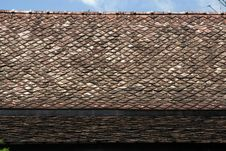 Free Ancient Thai House Roof 1. Stock Photo - 19852290