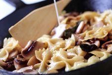 Free Pasta With Mushrooms Stock Photos - 19852353