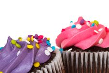 Free Cupcakes Royalty Free Stock Photos - 19852398