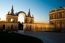 Free Architecture Of Tsaritsynsky Park In Moscow Royalty Free Stock Photography - 19852527