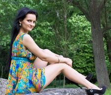 Free Beautiful Woman Outdoor Stock Image - 19852611