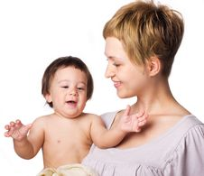 Free Mother With Son Royalty Free Stock Photography - 19852617