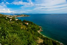 Adriatic Coast Royalty Free Stock Photos