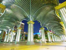 Bright Corridor Royalty Free Stock Photography