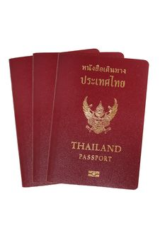 Free Thailand Passport Stock Images - 19853724