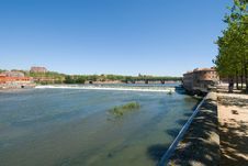 Free Landscape Of Garonne River Royalty Free Stock Images - 19853969