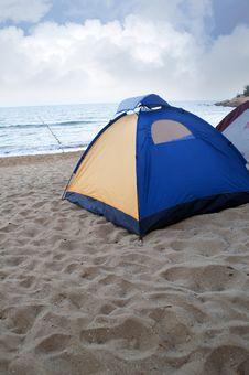 Free Beach Camping Stock Photo - 19854030