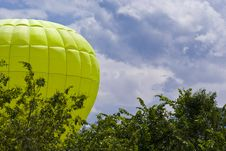 Free Flying Air Balloon Stock Image - 19854031
