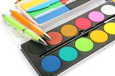 Free Color Paints Stock Photography - 19854312