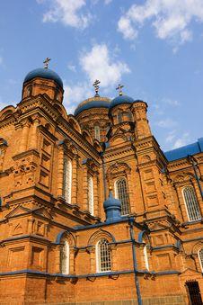 Free Orthodox Church In Kozelchina, Ukraine Royalty Free Stock Images - 19854739