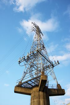Free Electricity Tower Stock Photo - 19854740