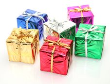 Free Boxes With Gifts Stock Images - 19854864
