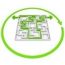 Free Maze Stock Photo - 19855020