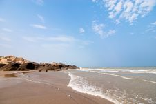 Free Seaside Beach Royalty Free Stock Image - 19855426