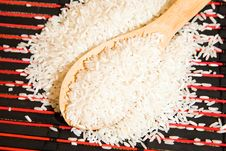 Free The White Rice Royalty Free Stock Photo - 19855465