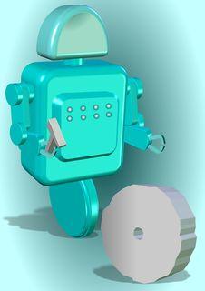 Free Creative Robot Stock Image - 19855851