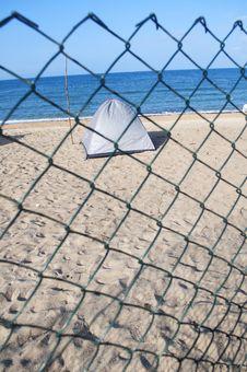 Free Beach Camping Royalty Free Stock Image - 19855906