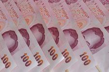 Free Red Color Thai Bank Royalty Free Stock Images - 19856049