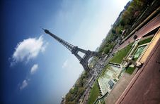 Free Paris (France) - Eiffel Tower Royalty Free Stock Image - 19856866