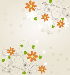 Free Floral Background Stock Photos - 19857193