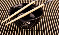 Sushi Equipment Stock Photo
