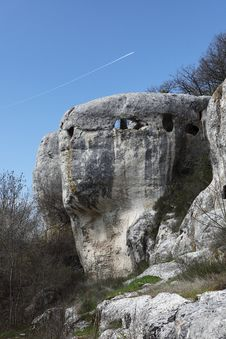 Free Cave City Eski-kermen Stock Image - 19857691