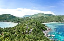 Free Viewpoint At Koh Tao Island Royalty Free Stock Images - 19868129