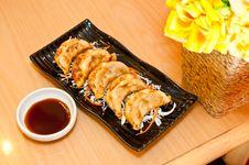 Fried Dumplings Royalty Free Stock Image