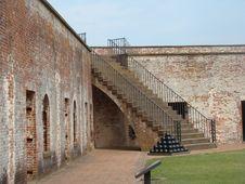 Free Barracks Stairway Royalty Free Stock Photos - 19868888