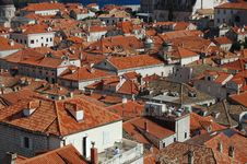 Free The Rooftops Of Dubrovnik Royalty Free Stock Photos - 19869368